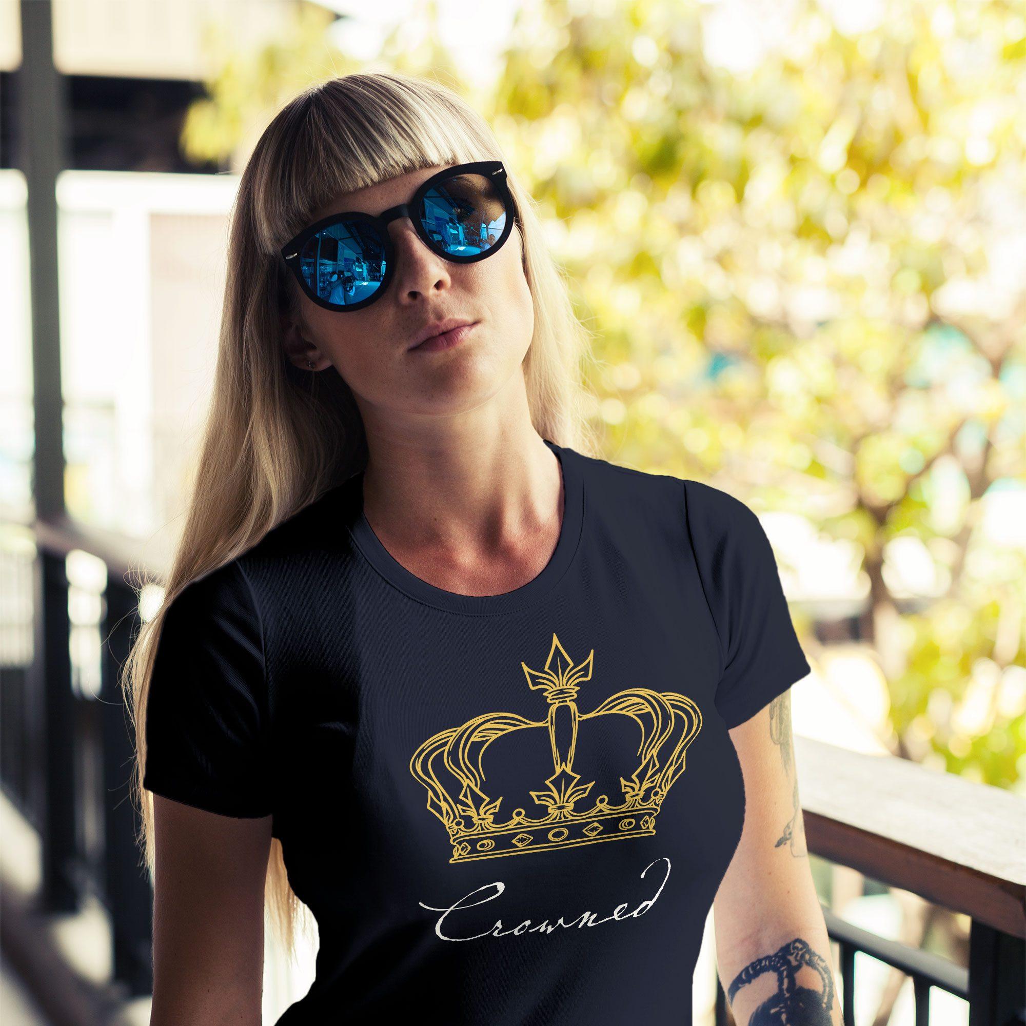 Camiseta para equipe interna da Prudential - Crowned