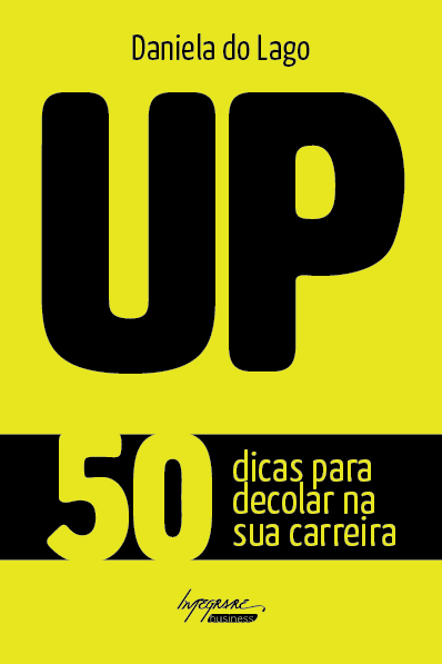 "capa do livro ""UP"" de Daniela do Lago para a Editora Integrare."