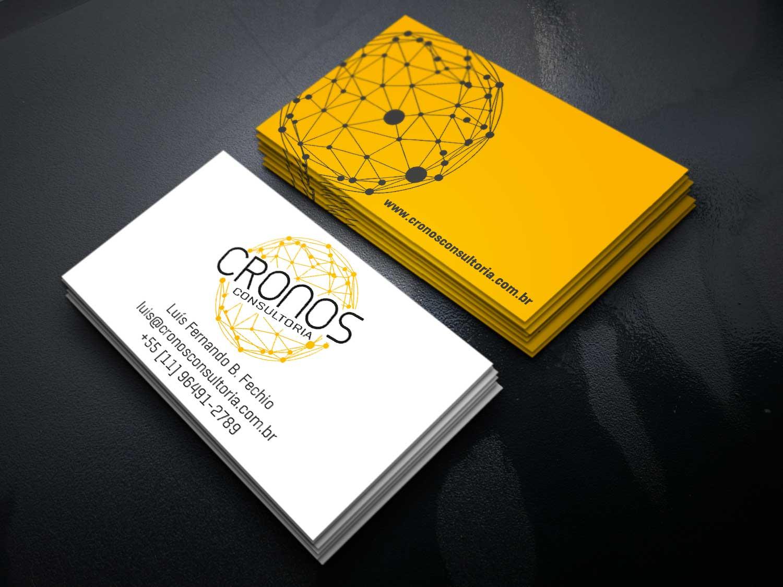Cartão de visitas Cronos Consultoria