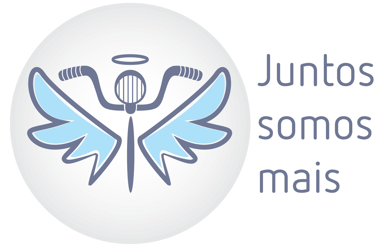 """Logotipo para a ação """"Juntos Somos Mais"""""""