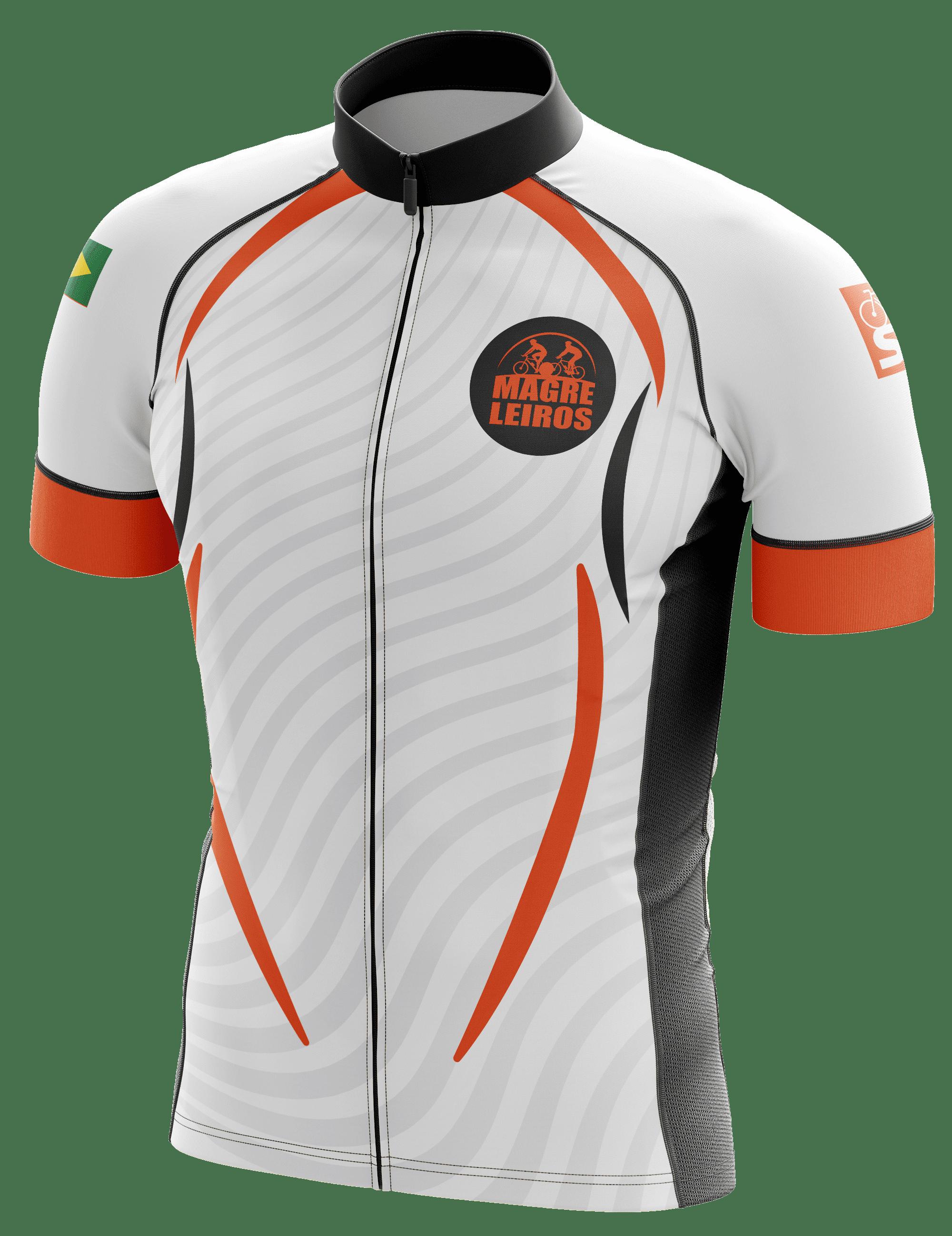 "Jersey para grupo de ciclismo urbano ""Magreleiros"""