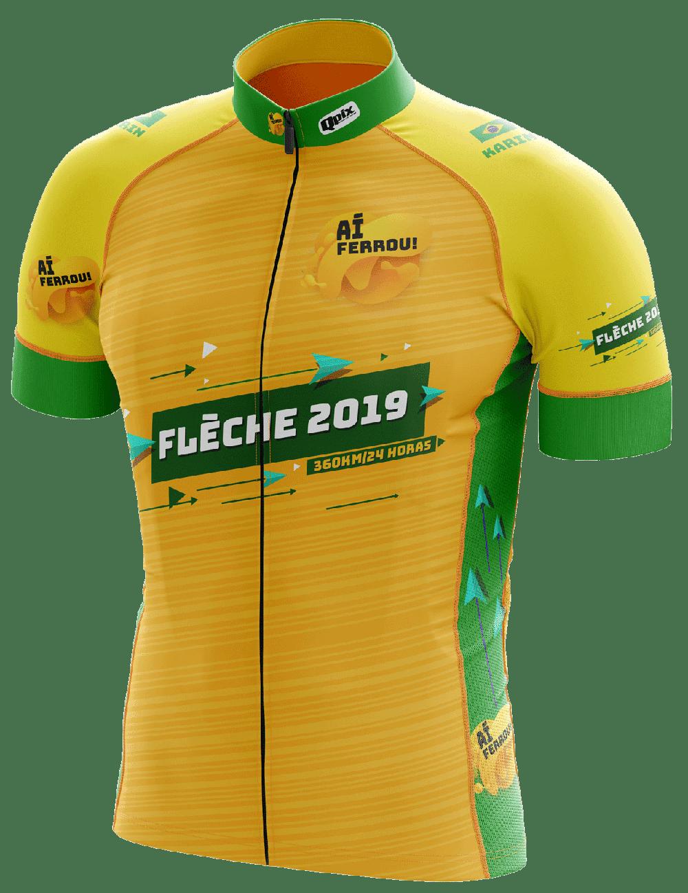 """Uniforme Oficial para equipe """"Aí Ferrou"""" que vai disputar o Flèche 2019."""