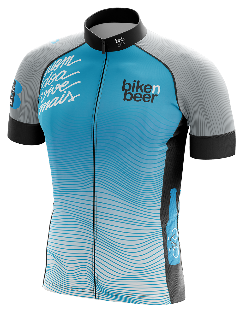 Uniforme Oficial para grupo de ciclismo Bike and Beer 2019.