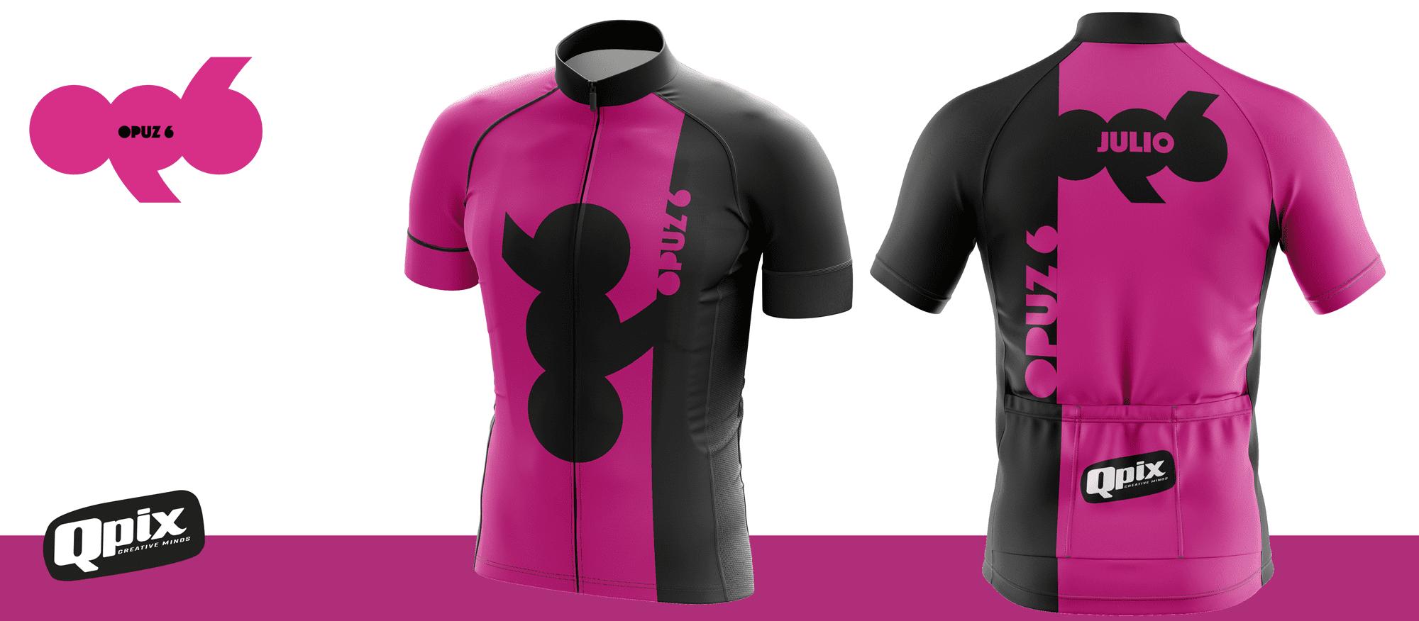 """Jersey para grupo de ciclismo urbano """"Opuz 6"""""""