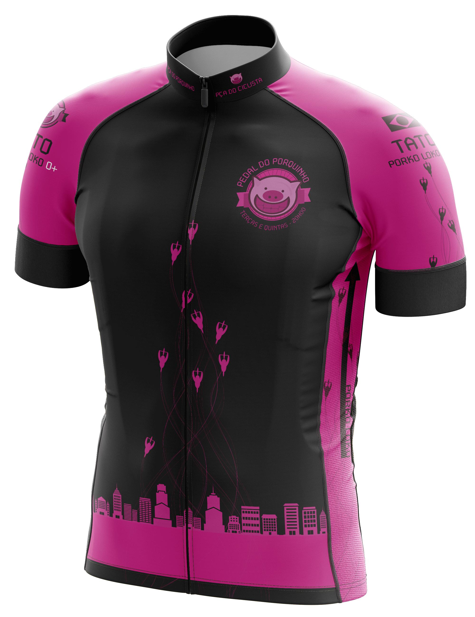"""Jersey para grupo de ciclismo urbano """"Porko Loko"""""""