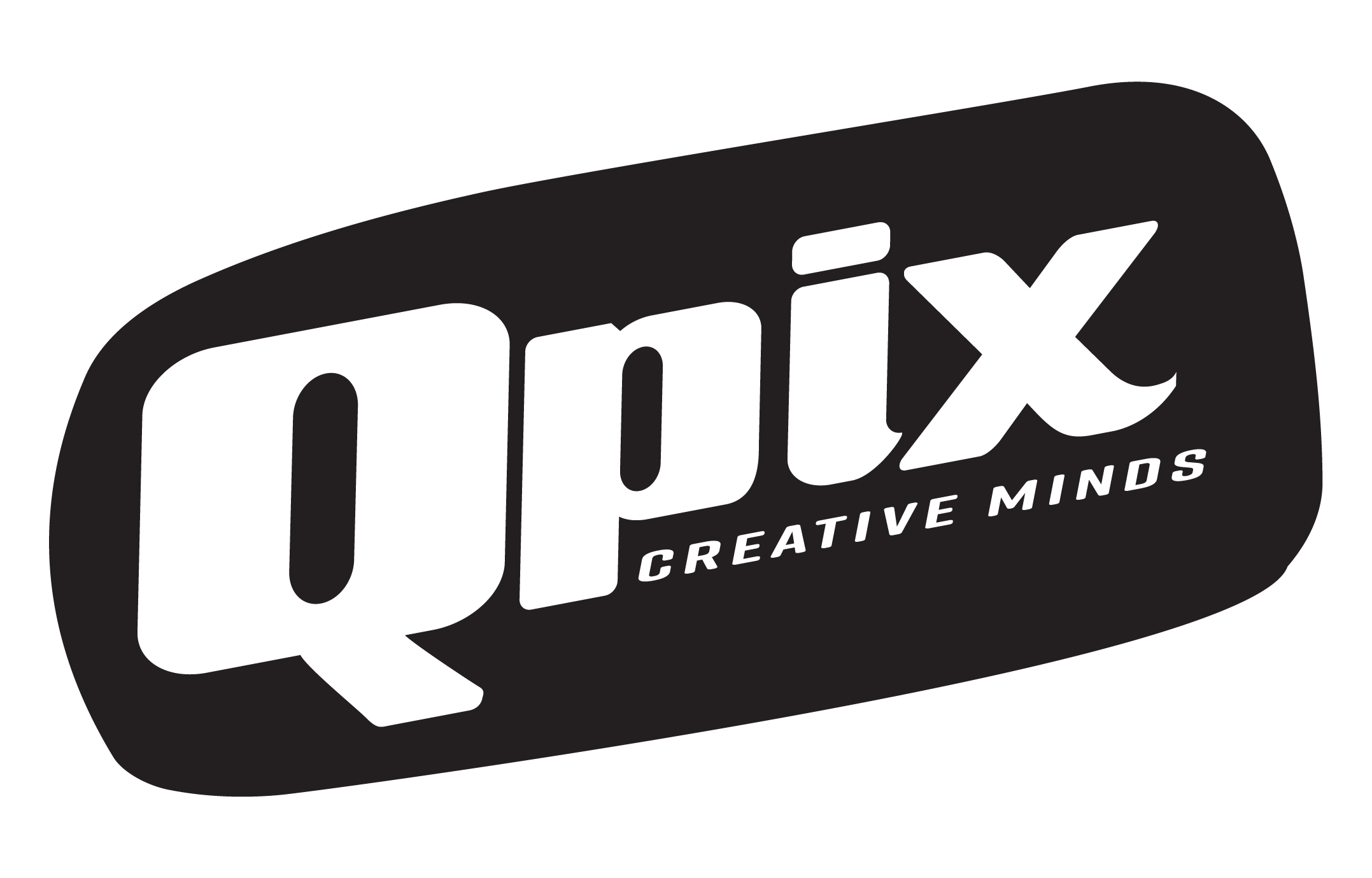 Logotipo Qpix Creative Minds