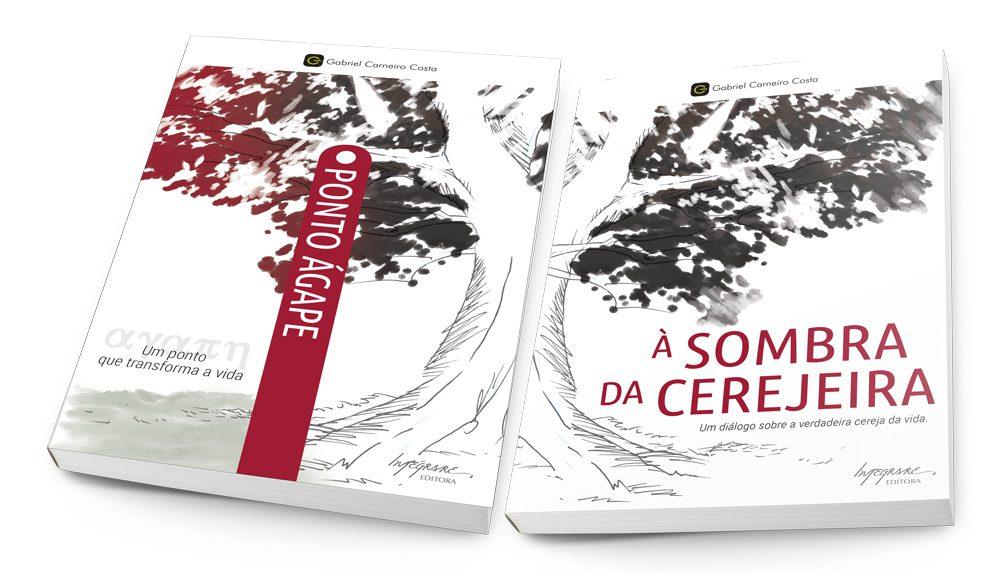 """Capa do livro """"Ponto Ágape"""" de Gabriel Carneiro Costa"""